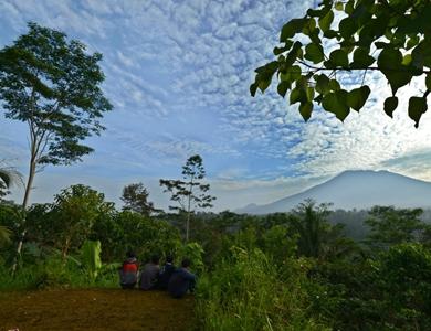 巴厘岛火山或即将喷发
