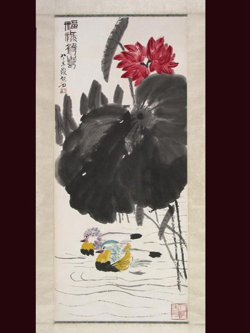 冬眠的动物奔马图儿童画